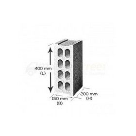 8 In. Bcap Concrete Cellular Blocks