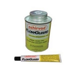 118 Ml. Ashirvad Flowguard Tin - CPVC Cement Glue