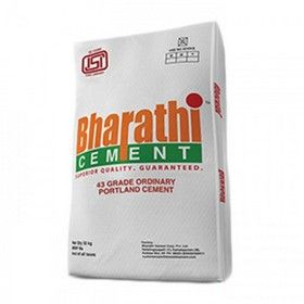 Bharathi 43 Grade Cement Small