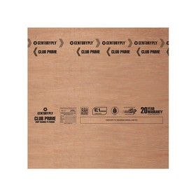 25 mm Thickness. x 8 Ft. x 4 Ft. Centuryply Club Prime Water Proof Blockboard