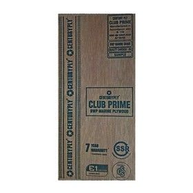 12 mm Thickness. x 8 Ft. x 4 Ft. Centuryply Club Prime Water Proof Plywood
