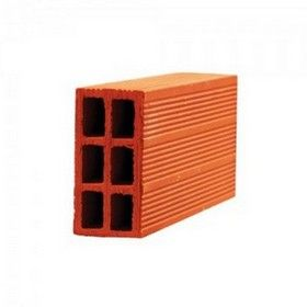 4 In. Porotherm Clay Hollow Full Bricks