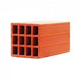 8 In. Porotherm Clay Hollow Full Bricks