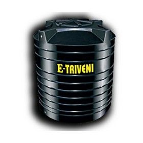 1500 Litres E - Triveni Black Double Layer Water Tank