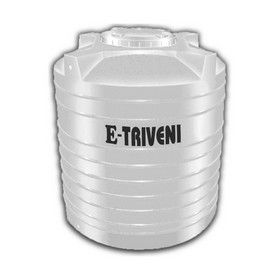 1000 Litres E - Triveni White Triple Layer Water Tanks