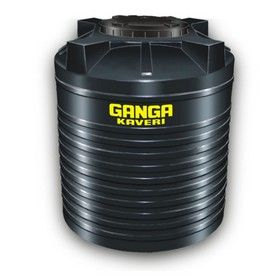 1000 Litres Ganga Kaveri Black Triple Layer Water Tanks