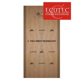 12 mm Thickness. x 8 Ft. x 4 Ft. - Green Ecotec Water Resistant Plywood