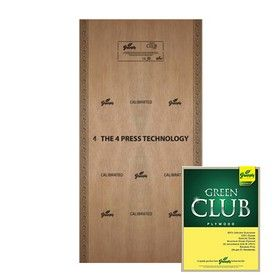 18 mm Thickness. x 8 Ft. x 4 Ft. - Greenply Green Club Water Proof Plywood