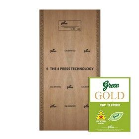 18 mm Thickness. x 8 Ft. x 4 Ft. - Greenply Green Gold Water Proof Plywood
