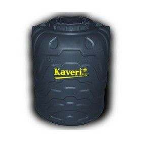 750 Litres Kaveri Plus Black Triple Layer Water Tank