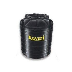 500 Litres Kaveri Black Double Layer Water Tank
