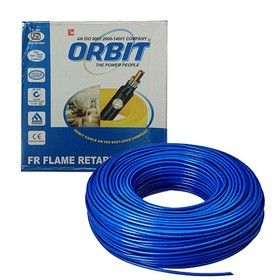 1.0 Sq. mm - Blue Color 90m -Orbit FRLS Wire Cables