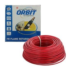6.0 Sq. mm - Red Color 90m -Orbit FRLS Wire Cables