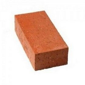 9 In. x 4 In. x 3 In. RED Clay Table Mould Bricks