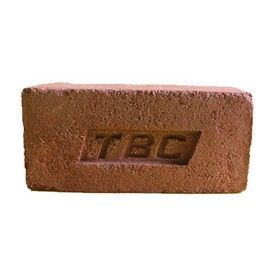 9 In. x 4 In. x 3 In. TBC Clay Wire Cut Bricks