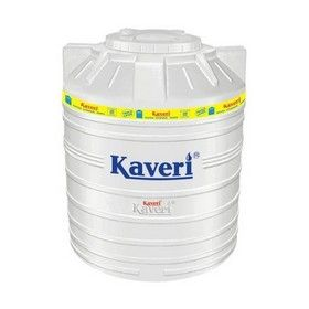 3000 Litres Kaveri White Triple Layer Water Tank