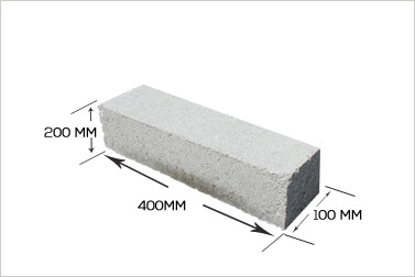 Difference between Brick | Concrete solid block | Hollow