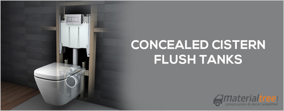 Concealed Cistern Tanks Or Wall Hung Flush Tanks