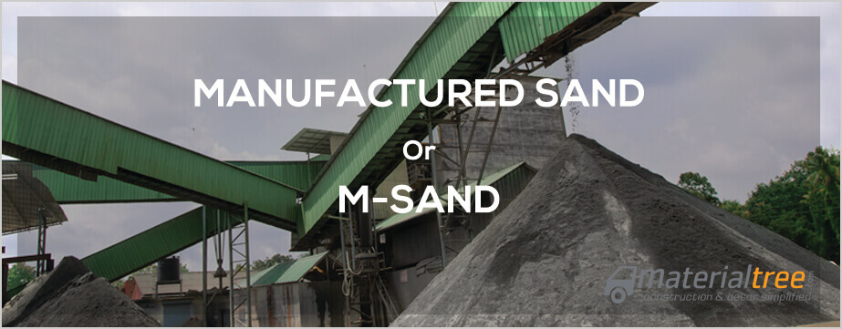 Buying Guide for Manufactured Sand or M-Sand